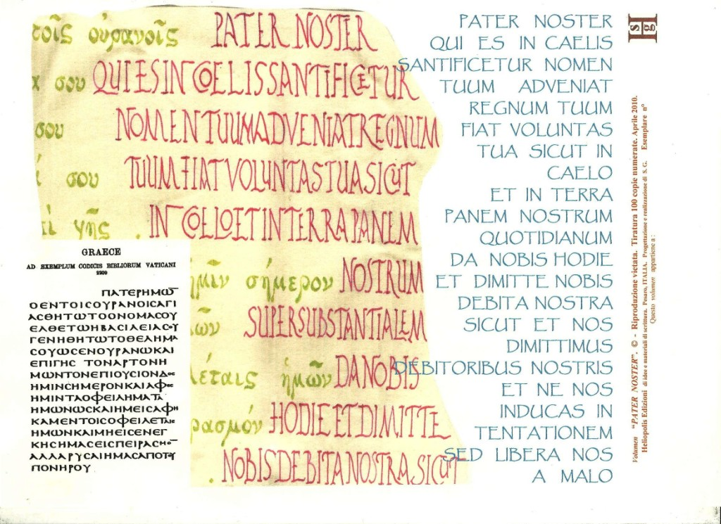 Pater Noster. Pagina 5 001