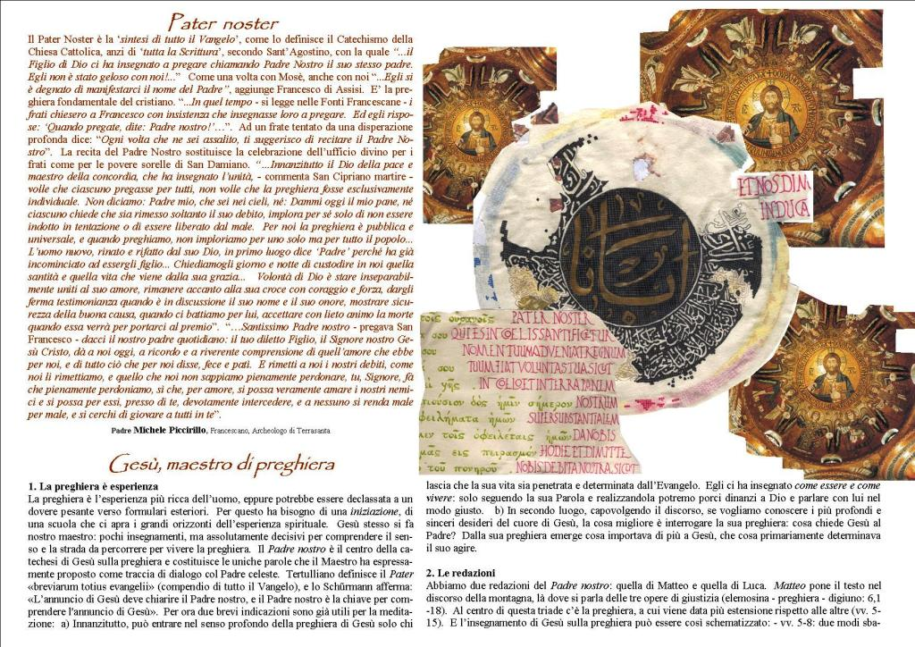 Pater Noster pagina 1